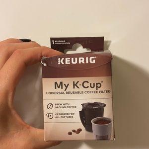 Reusable k cup 🌱
